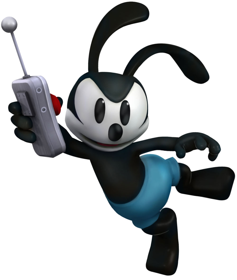 Oswald The Lucky Rabbit PNG Image.