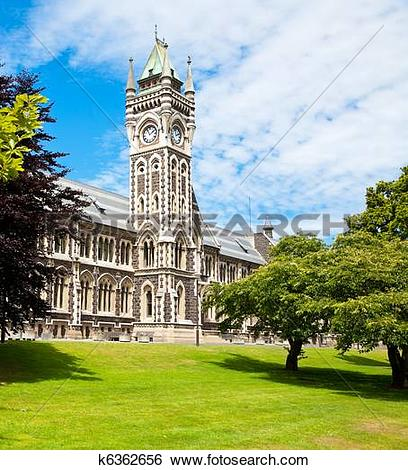 Stock Images of University of Otago k6362656.