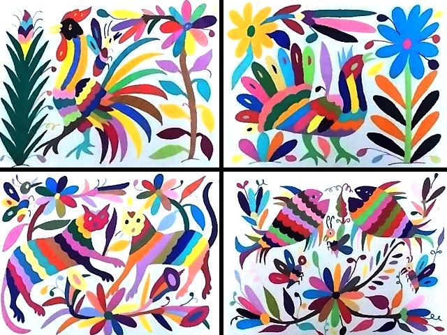 Otomi Animal Art.