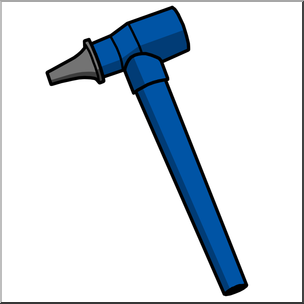 Clip Art: Medicine & Medical Technology: Otoscope Color I.