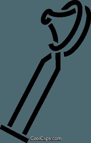 Otoscope Royalty Free Vector Clip Art illustration.