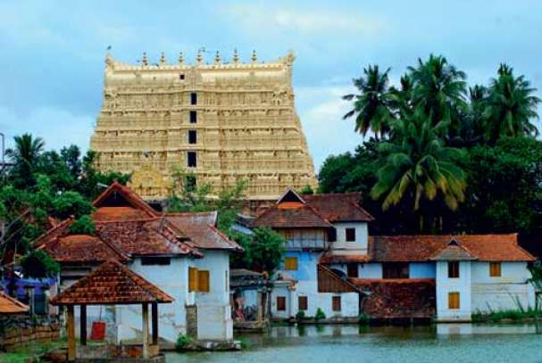 Sree Padmanabha Swamy Temple, Thiruvananthapuram, the richest.
