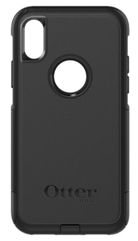 Apple iPhone X in Otterbox Commuter Smartphone Holster.