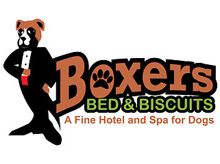 Boxers Bed and Biscuits.