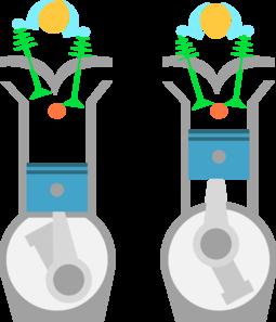 Otto Engine Clip Art at Clker.com.