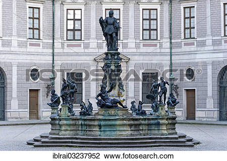 "Stock Photo of ""Statue of Otto von Wittelsbach on the Wittelsbach."