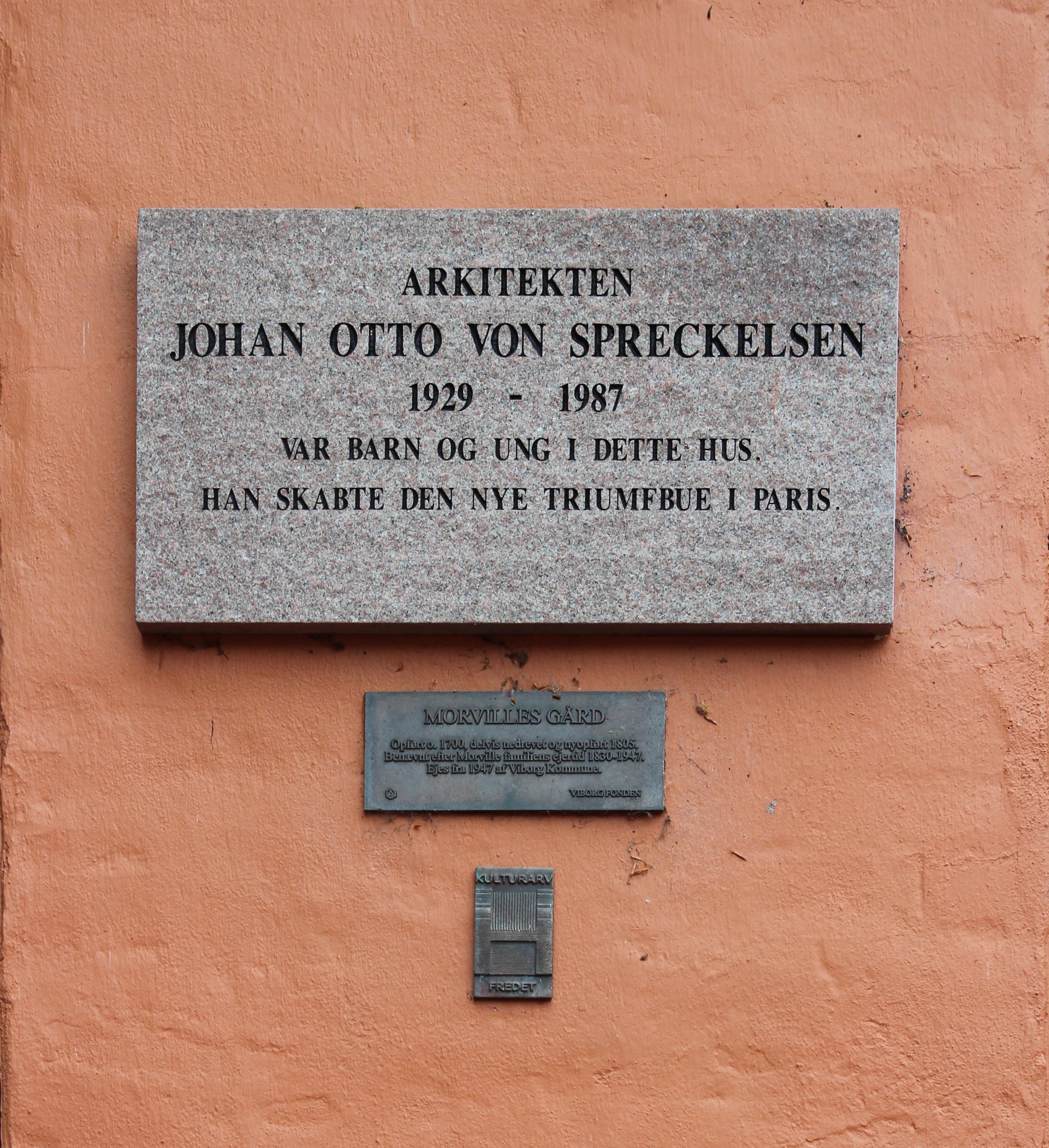 Johann Otto von Spreckelsen.