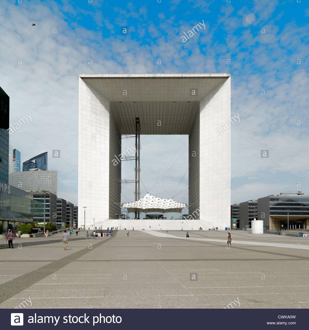 La Grande Arche Designed By Johann Otto Von Spreckelsen And Erik.