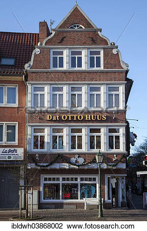"Stock Photo of ""Dat Otto Huus, """"""""Otto House"""""""", of German."