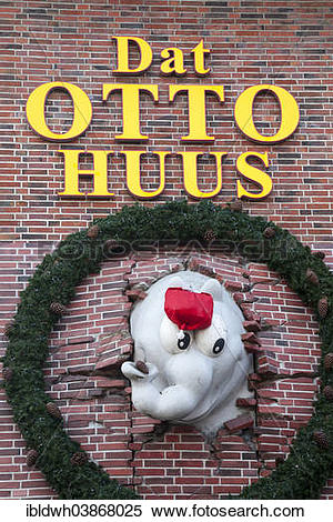 "Stock Image of ""Dat Otto Huus, """"""""Otto House"""""""", of German."