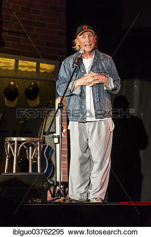 "Stock Image of ""The German comedian Otto Waalkes performing live."