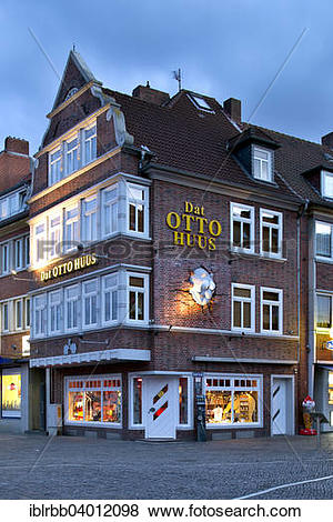 "Pictures of ""Historic gabled house, today Dat Otto Huus of the."