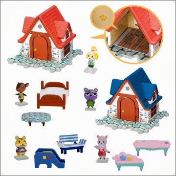 Animal Crossing Ouchi To Okagu Collection, Takara Tomy.