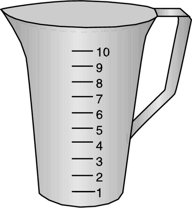 Liquid Measurement Clipart.