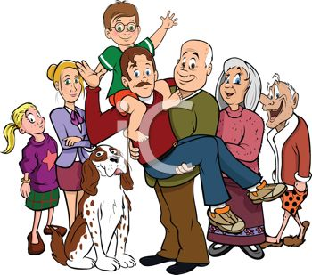 36+ Clipart Of Family.