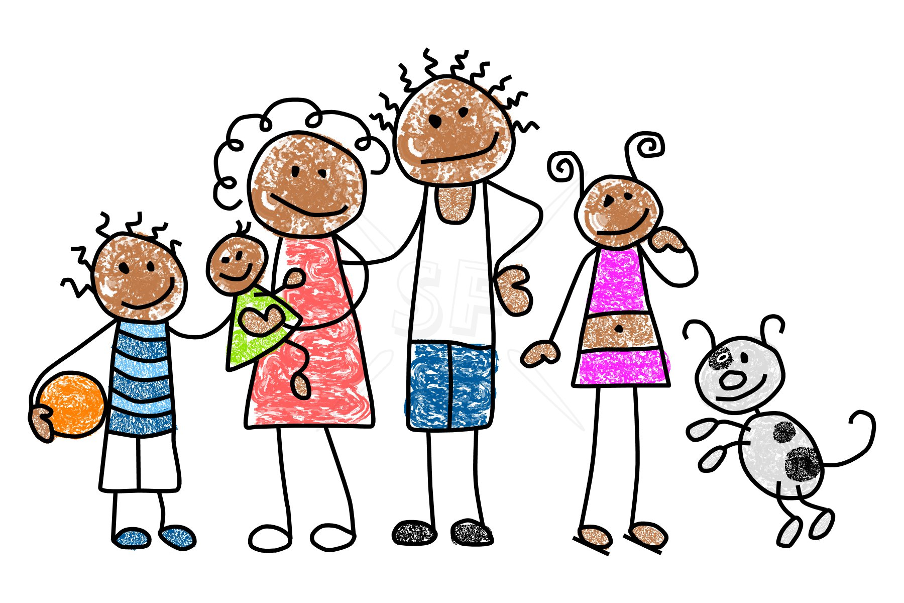 46+ Family Clipart Free.
