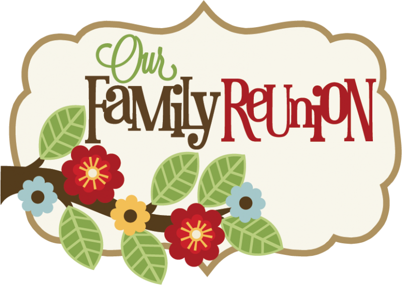 Family Reunion Borders Clipart Large Our Title.