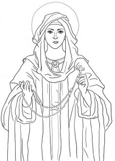 Our Lady Of Fatima Clipart.