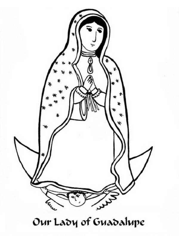 Our Lady Of Sorrows Coloring Pictures.