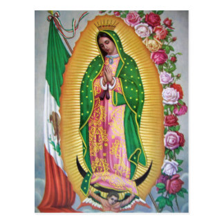 Our Lady Of Guadalupe Postcards.