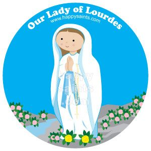 Our Lady of Lourdes, pray for us!.