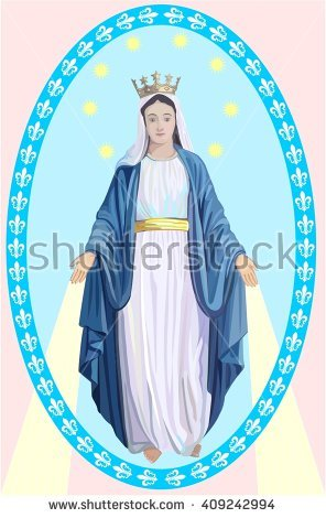 Our Lady Stock Photos, Royalty.