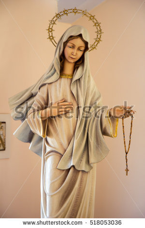 Medjugorje Stock Images, Royalty.