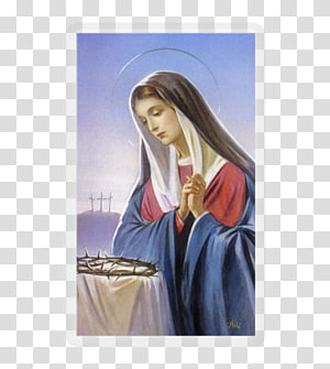 Our Lady Of Sorrows transparent background PNG cliparts free.