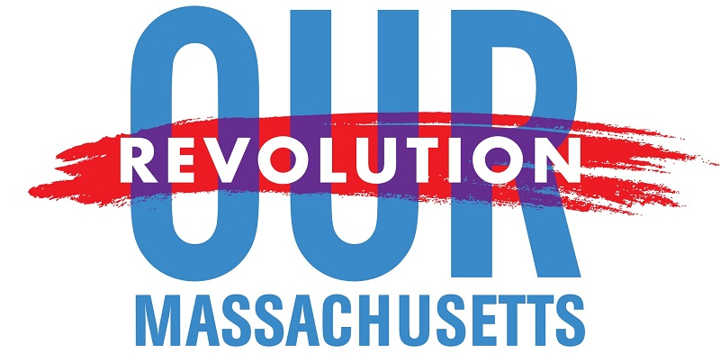 Our Revolution Massachusetts at Democratic State Convention.