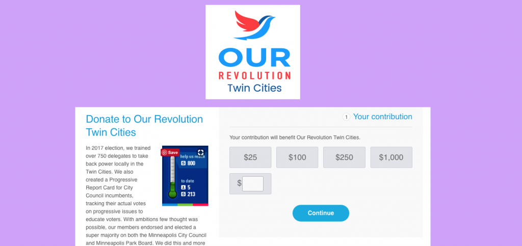 Our Revolution Twin Cities.