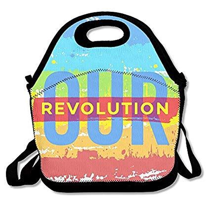 Amazon.com: Black Our Revolution Logo Grocery Bags For Man.
