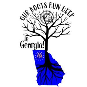 Our Roots Are In Georgia Svg, Eps, Dxf Cutting File.