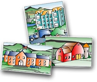 Our Town Clipart.