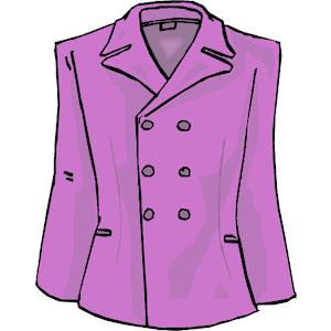 A Zip Up Jacket Clipart.