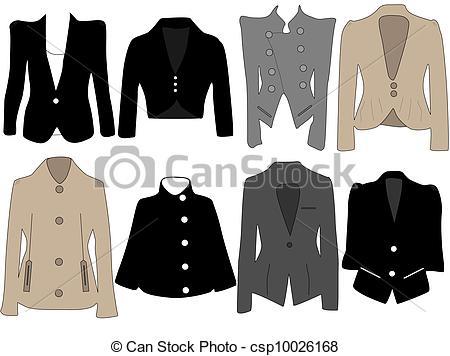 Clipart womens jacket.