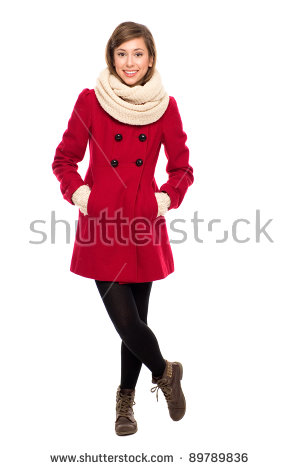Winter Coat Stock Photos, Royalty.