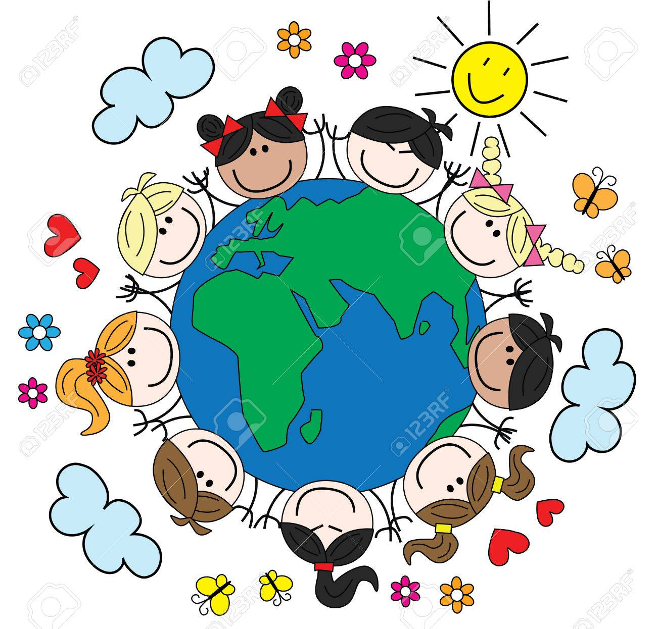 Our World Clipart.