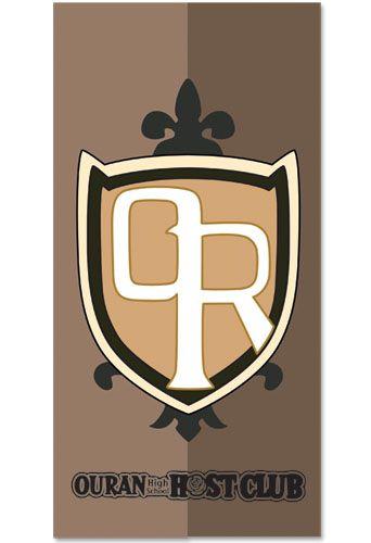 Ouran High School Host Club: School Logo Towel.