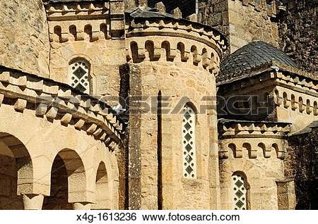 Stock Images of Church of the Vera Cruz, Carballio, Ourense.