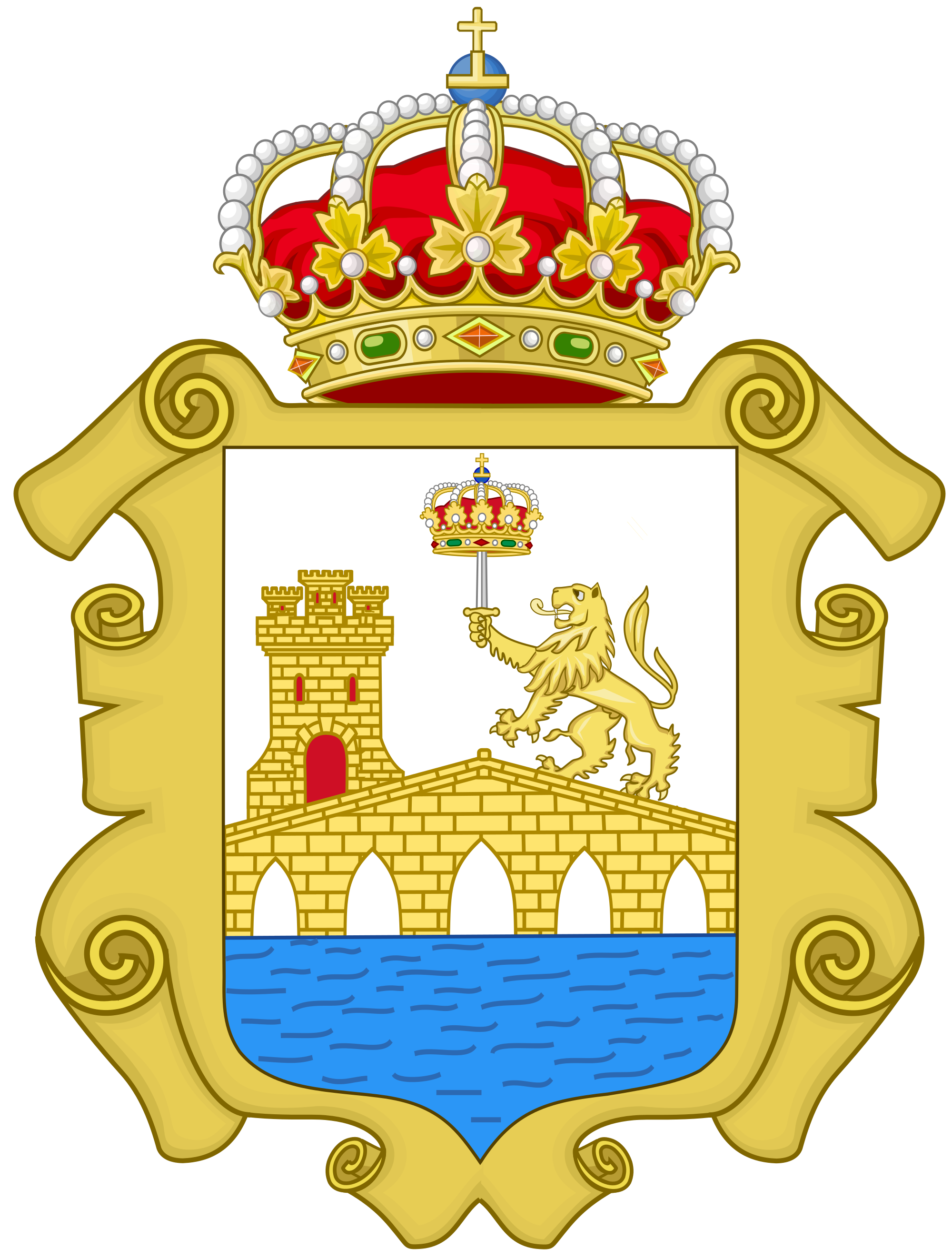 File:Coat of Arms of Ourense.svg.