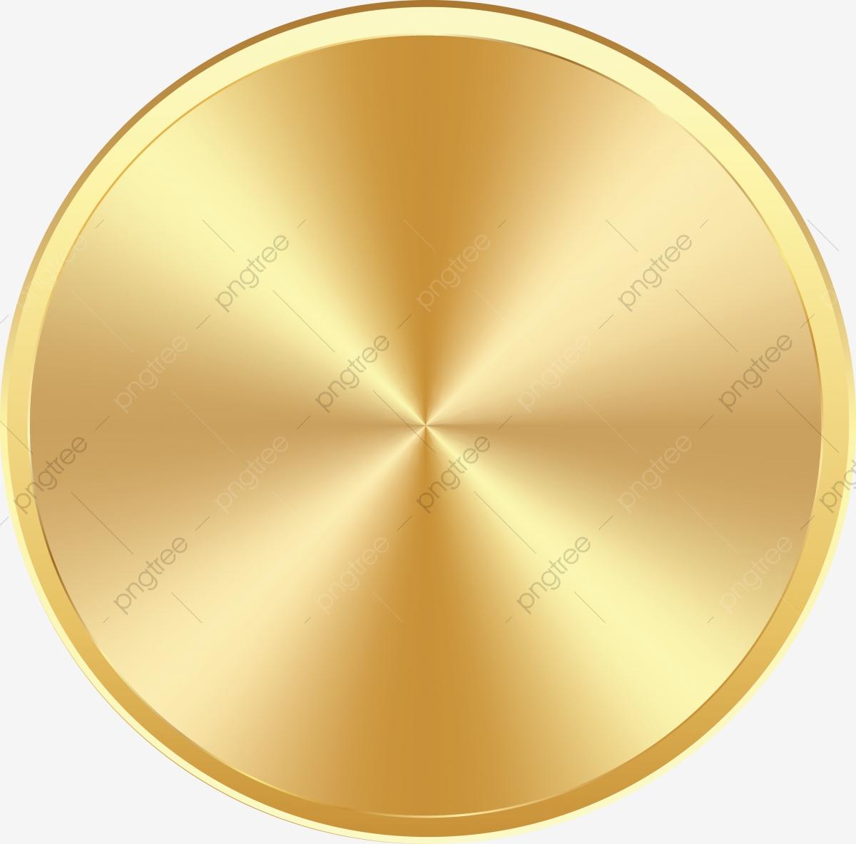 Círculo De Metal Ouro, Círculo De Ouro, Goldcircle, Ouro PNG.