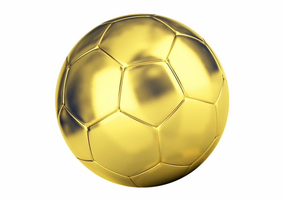 Ball Football Golden Ball Sports Soccer Ball Game.