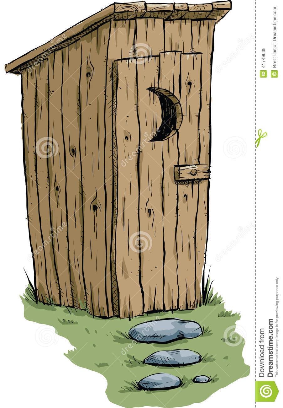 Outhouse Cartoon.