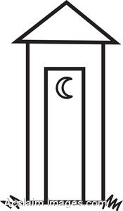 Outhouse Clip Art.