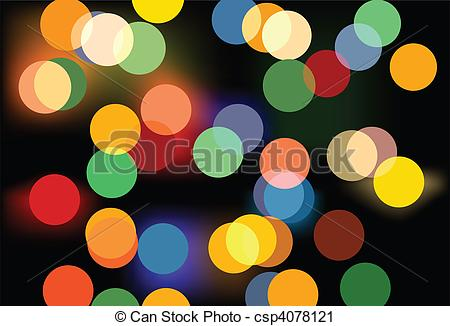 Vector Clip Art of Beautiful out of focus light background.