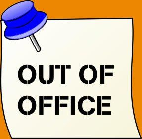 68+ Out Of Office Clipart.