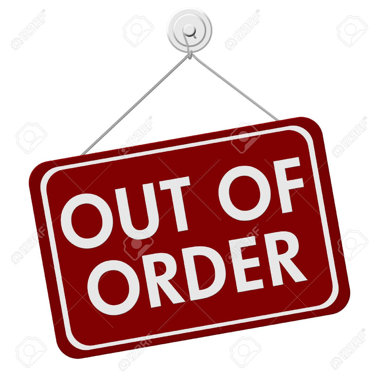 Out of order clipart 6 » Clipart Station.