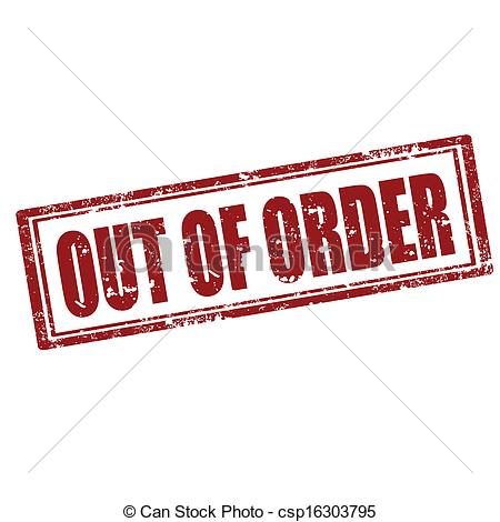 Out of order clipart 4 » Clipart Station.