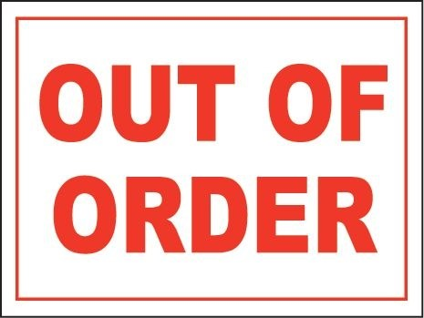 Bathroom out of order clipart 1 » Clipart Portal.