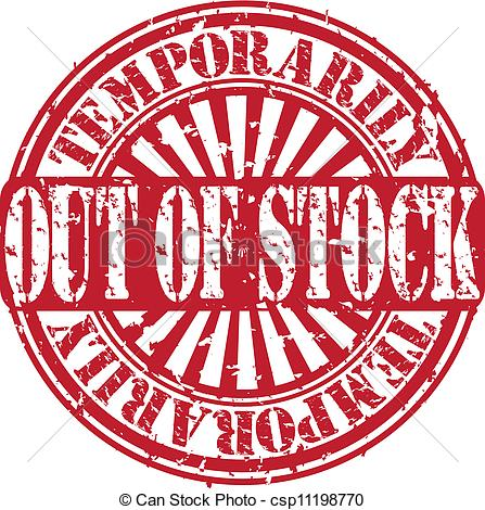 Out of stock Clipart and Stock Illustrations. 939 Out of stock.